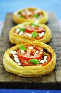 Tomato Tarts w/ puff pastry