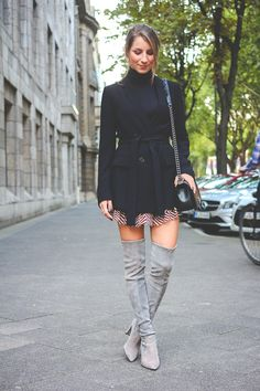 OUTFIT: HOW TO WEAR – OVERKNEE STIEFEL