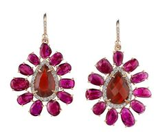 Tourmaline earrings!