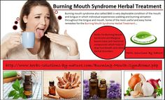 How to Use Herbs in Burning Mouth Syndrome Herbal Treatment