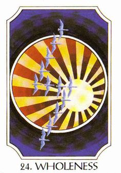 24. Wholeness (Sowilo) - Rune Cards by Ralph Blum Illustrated by Jane Walmsley
