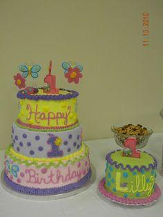 Hugs and Stitches 1st Birthday Cake — Children's Birthday Cakes