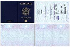 Us Blank Passport Template - Invitation Templates Passport Form, Passport Template, Passport Cover, Money Template, Templates Printable Free, Printables, Safari Invitations, Passport Wedding Invitations, Invitation Text