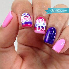Nail Art – Freehand Stripes & Doodles