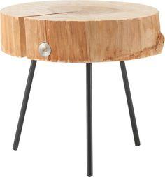 Runder Couchtisch aus Holz von Rolf Benz