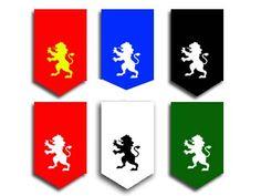 EJEMPLO BANDEROLAS COLOR Flag, Logos, Art, Medieval Party, Castles, Art Background, Logo, Kunst, Science