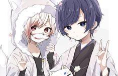 Mafumafuxsoraru Tagged Photos and Videos Kawaii Anime, Kawaii Chibi, Chica Anime Manga, Cute Anime Boy, Cute Anime Couples, Anime Love, Vocaloid, Friend Anime, Anime Best Friends