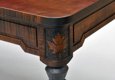 Attirant Maple Leaf Dining Table From Dorset Custom Furniture #Vermont #Handmade  #DiningTable