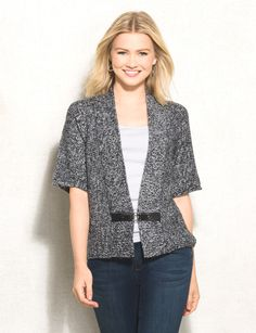 The ultimate wear-anywhere-and-everywhere cardigan is here. You'll love how you…