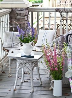 It's Summertime, so it's a great time to be outdoors. I'm joining a few blogging friends today to share some ideas for making your outdoor space cozy. I started with the table on my front porch. I've had this table for awhile, but I don't think I've shown it before. I bought it for my …