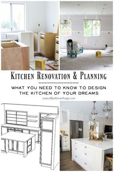 Kitchen Renovation & Planning - what you need to know to design the kitchen of your dreams