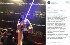 Berita Terbaru : Luna Maya Pose Seperti Pemain Film Star Wars | Kabarmaya.com