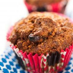 Who can resist a cinnamon-scented muffin bursting with fruit, carrots, coconut, and nuts? We have our own chef Pam McKinstry to thank for. Muffin Recipes, Brunch Recipes, Snack Recipes, Snacks, Free Recipes, Breakfast Muffins, Breakfast Dishes, Breakfast Recipes, Cinnamon Streusel Muffins