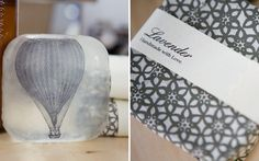 """Photo: Ruffled Blog [http://ruffledblog.com/diy-transparent-boutique-soap-bridesmaids-gifts/]"""