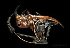 copper wall art sculpture