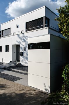 design gartenhaus @gart_eins by design@garten - dormagen, germany #Gartenhaus #HPL #Gerätehaus #Fahrradhaus #Flachdach