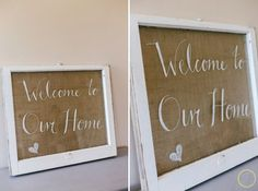 old window sign, crafts