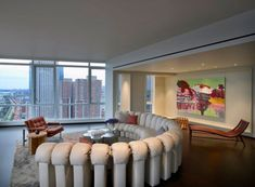 200 Chambers Penthouse by Incorporated Architecture