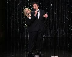 Barbra Streisand and Jimmy Fallon team up for a medley of hits on The Tonight Show. Description from pinterest.com. I searched for this on bing.com/images