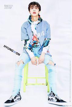 Hyungwon Monsta X Jooheon, Kihyun, Monsta X Hyungwon, Shownu, Hit Boy, Star Magazine, Won Ho, Starship Entertainment, My Crush