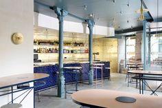 Lucas y Hernández-Gil crean dualidad entre lo crudo y lo refinado en un restaurante en Madrid