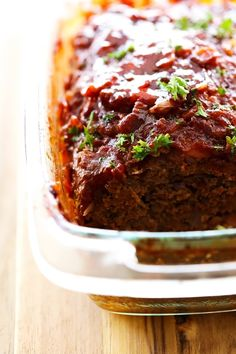 Mom's Best Meatloaf... This meatloaf is packed with flavor! It is juicy, simple and loaded with yummy ingredients! It is by far my favorite meatloaf recipe!
