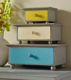 #DIY Storage Drawers | Supplies available at Jo-Ann Fabric and Craft Stores