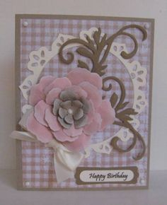 Paper Obsession / floral card
