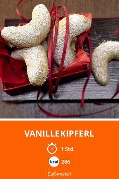 Vanillekipferl - smarter - Kalorien: 286 kcal - Zeit: 1 Std. | eatsmarter.de