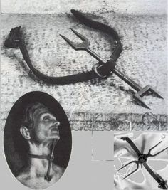 The Heretics Fork - Commonly used by the Inquisition    http://seawaves.us/na/Inquisitions.html