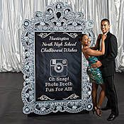 Chalkboard Wishes Photo Booth Sign