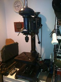 Sears Dunlap Bench Top Drill Press Late 1930 S Drill Press Bench Press Machine Bench Press