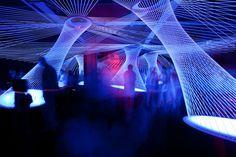 """""""resonate"""" / interactive sound & light installation Luminale 2012, Frankfurt am Main ZKM Karlsruhe exhibition """"sound art"""" by FH Mainz / M.A. Kommunikation im Raum found on LeRoMi - portfolio Lea Mirbach https://leromi.allyou.net"""