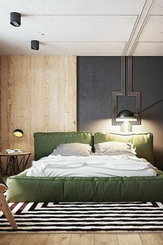 Modern bedroom by Juliya Butova - Architecture and Home Decor - Bedroom - Bathroom - Kitchen And Living Room Interior Design Decorating Ideas - Modern Bedroom Design, Master Bedroom Design, Contemporary Bedroom, Master Bedrooms, Bedroom Designs, Contemporary Design, Nice Bedrooms, Modern Room, Beautiful Bedrooms