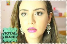 Como me pediram e gostaram da maquiagem do vídeo do meu especial de 1 ano,aqui está o tutorial TOTALMENTE MATTE e dicas incríveis!