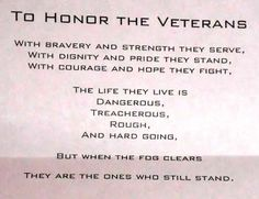 Veterans Day Poems