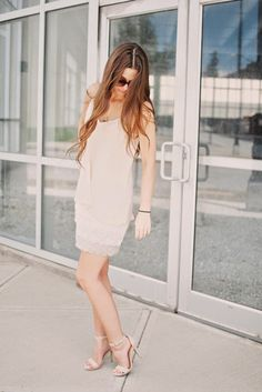 Easy and chic! Chic of the Week: Madison's Blush Ensemble