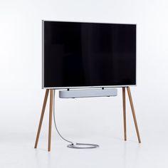 Tv Stand Tripod, Nordic Furniture, Tv Stand Designs, Rack Tv, Wooden Tv Stands, Design Minimalista, Mid Century House, Mid Century Design, Minimalist Design