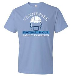 Tennessee Football Family Tradition T-Shirt