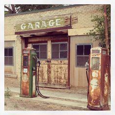 Vintage Gas and Service station, Salina Utah