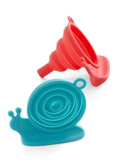 I didn't know my life was empty before, but now I know I'll never be complete without these SNAIL FUNNELS!