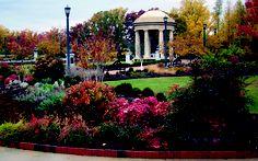 Reynolds Garden at the National D-Day Memorial in Bedford, VA.