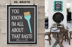 Kitchen Art-Chalkboard Styles | Jane