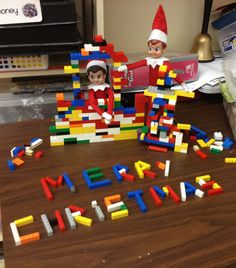 Elf on the shelf classroom