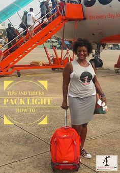 Tips on how to pack light from an airline employee and a frequent jetsetter who travels with no more than a backpack.