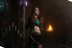 Diablo 2 - Sorceress by Feyische on DeviantArt Diablo Cosplay, Demon Hunter, Necromancer, Shutter Speed, Wonder Woman, Deviantart, Costumes, Superhero