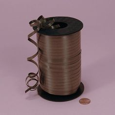Tanday Brown 500 Yards Curling Ribbon (1500 Feet) For Balloons/Crafts/Wedding Favor .. -- You can find more details by visiting the image link.