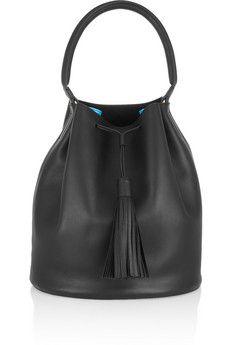 Anya Hindmarch Vaughan leather shoulder bag | NET-A-PORTER