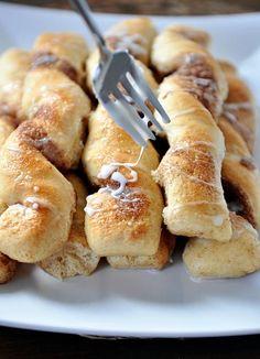 Mel's Kitchen Cafe | Cinnamon and Sugar Breadstick Twists