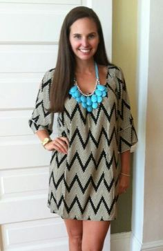 Newest obsession: Chevron dresses!!!